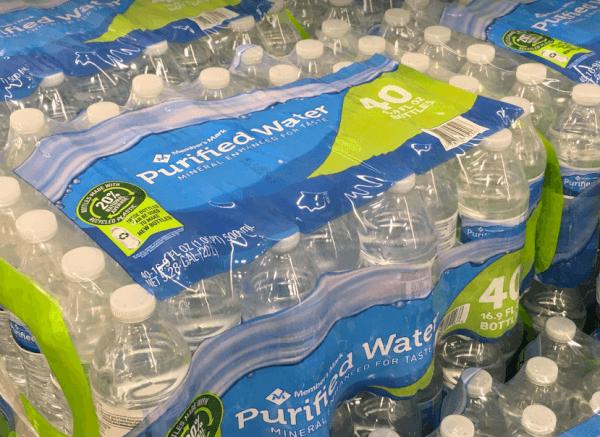 sam's club member's mark purified water