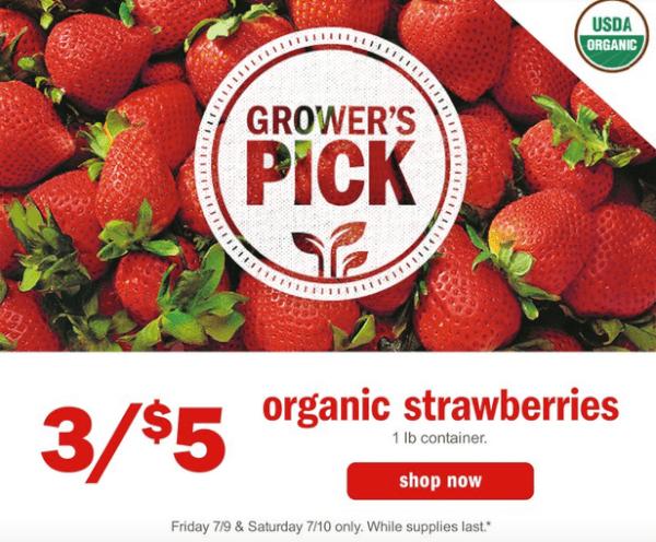 meijer organic strawberries