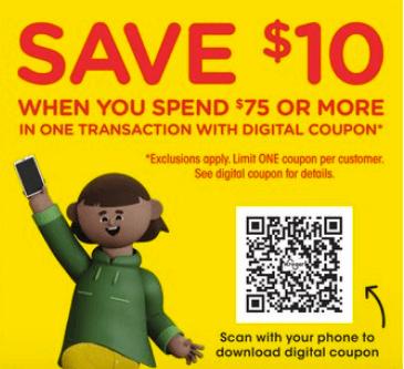 Kroger digital coupon